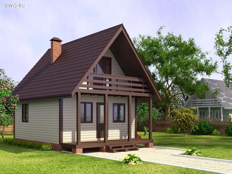 Проекты небольших домов своими руками